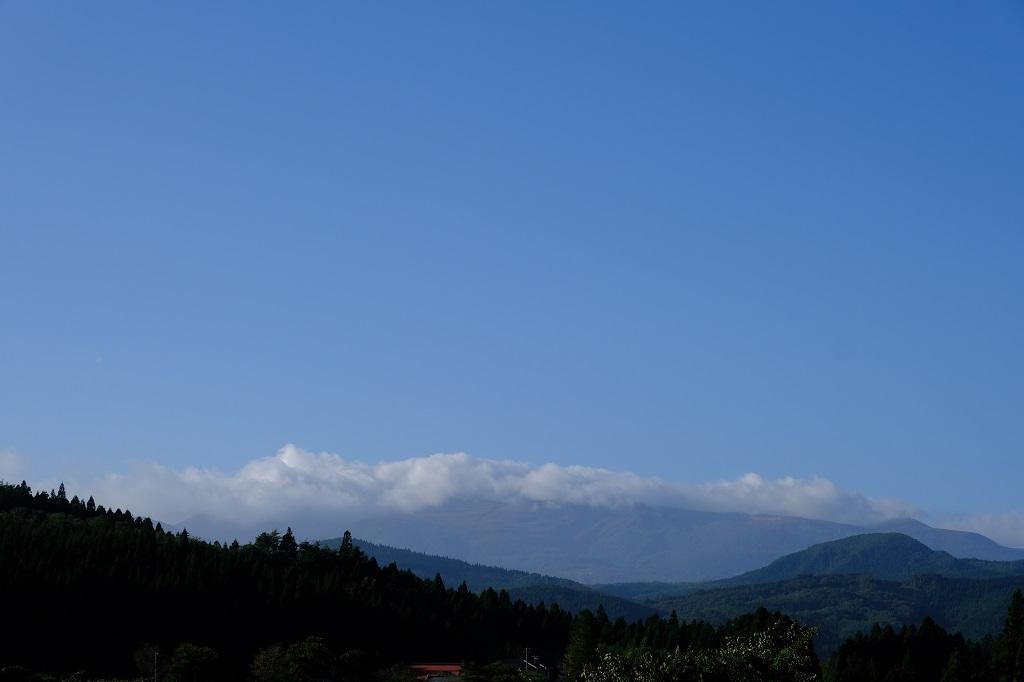 栗駒山の10月の景色