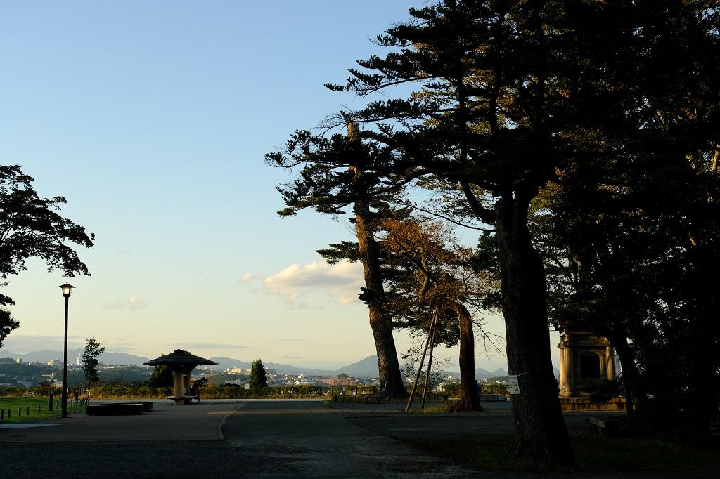青葉城址公園の風景写真