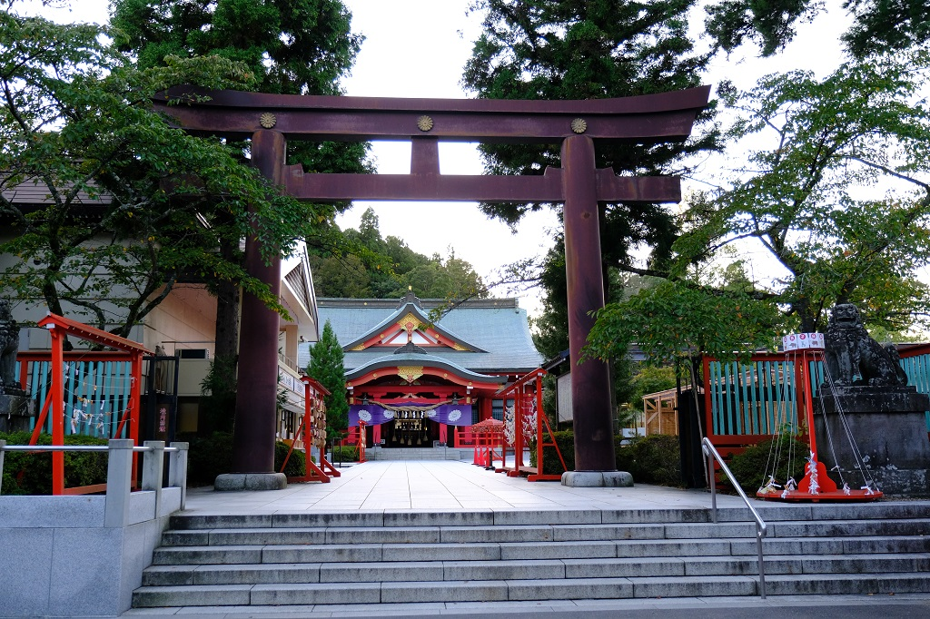 仙台城(青葉城址公園)の護国神社の写真