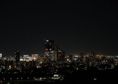 仙台の秋の夜景をx-t3で撮影した写真!