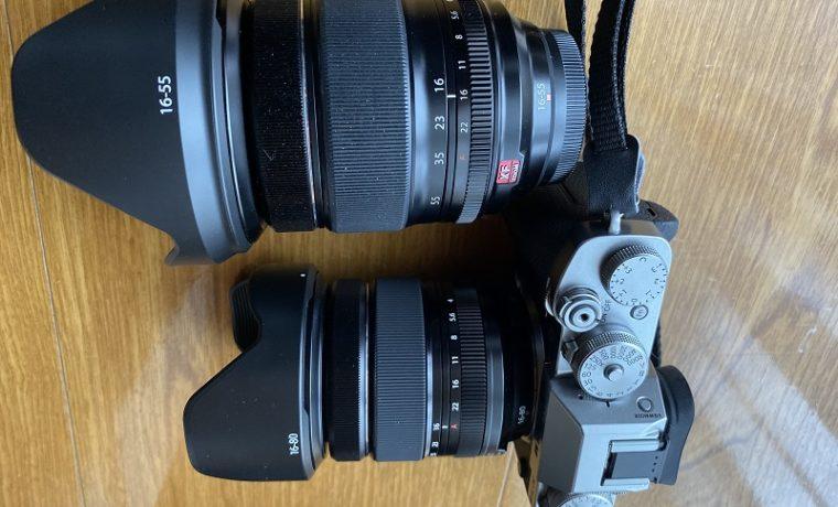 レンズの比較写真