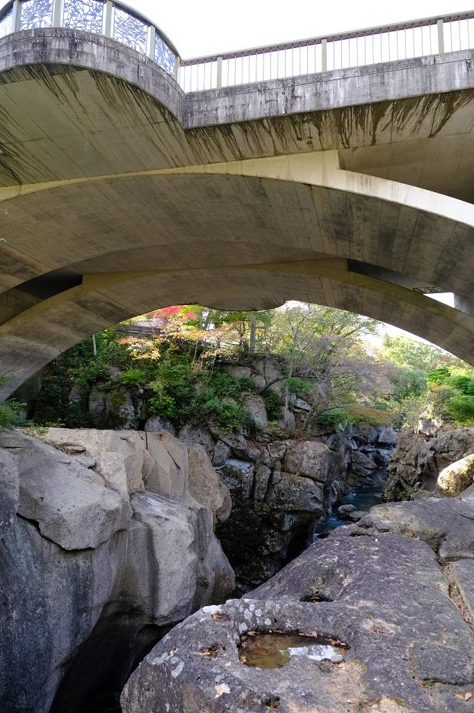 磊々峡の恋人の聖地の写真