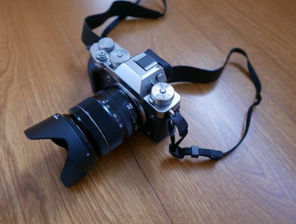 X-T3レンズキットの写真