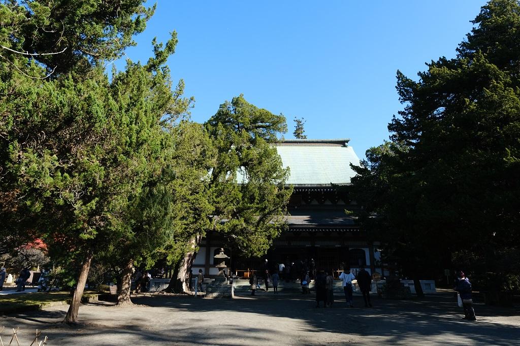 円覚寺の本堂の写真