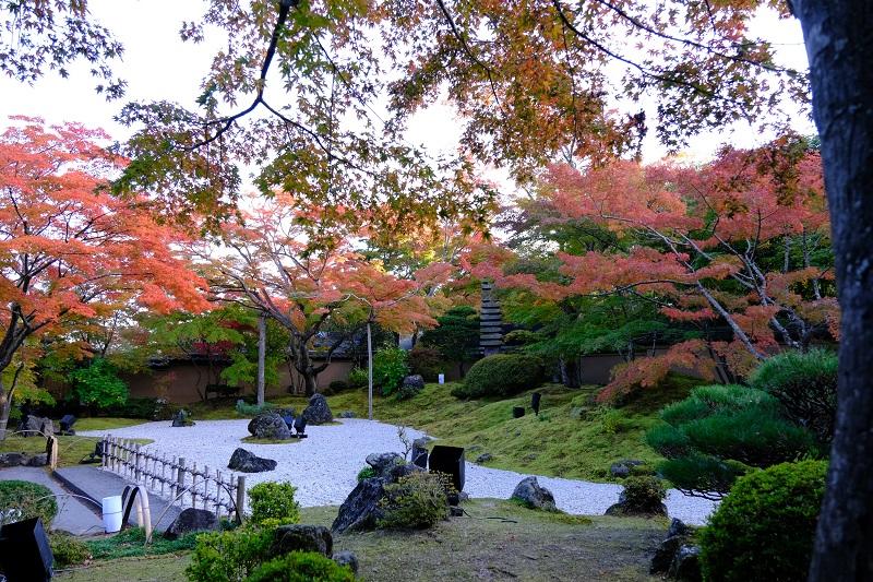 円通院の庭園の風景写真