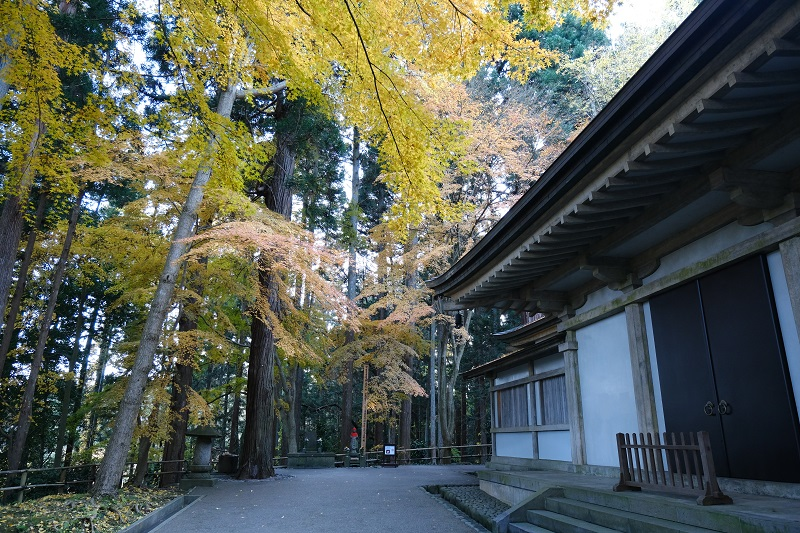 中尊寺金色堂の周辺写真