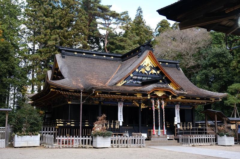 大崎八幡宮本殿の写真