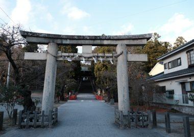 仙台東照宮の秋の紅葉時の写真