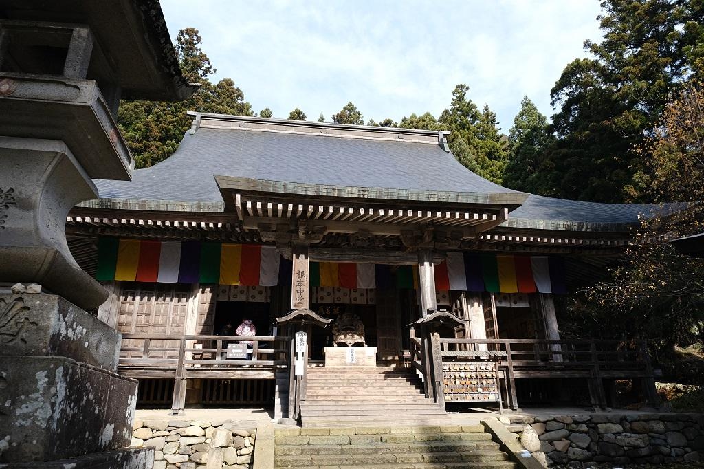 山寺立石寺本堂の写真