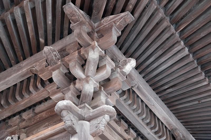 榴ヶ岡天満宮の建築様式の写真