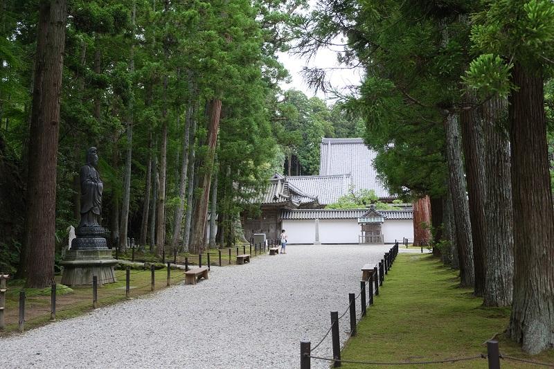 瑞巌寺の境内の写真