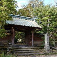寿福寺の正門の写真