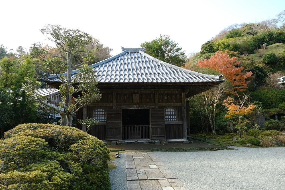 海蔵寺の別堂の写真