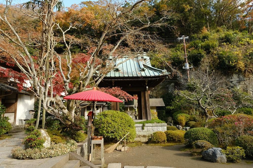 海蔵寺の境内の写真