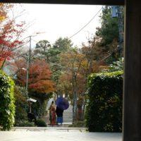 海蔵寺の結婚式の風景