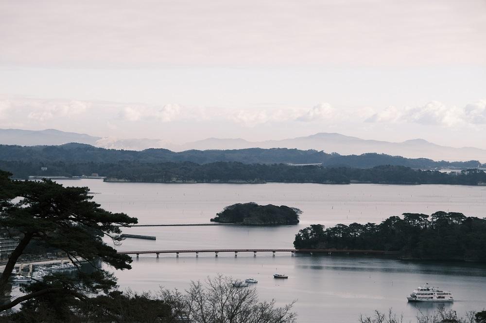 x-pro3クラシックネガで撮影の松島の風景写真