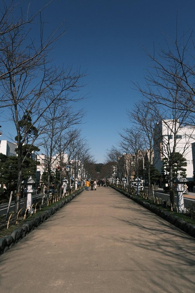 鶴岡八幡宮へのアクセス写真