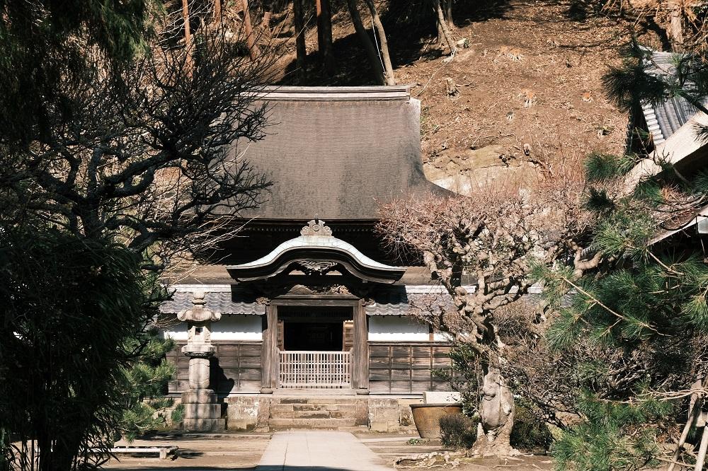 円覚寺国宝舎利殿の写真