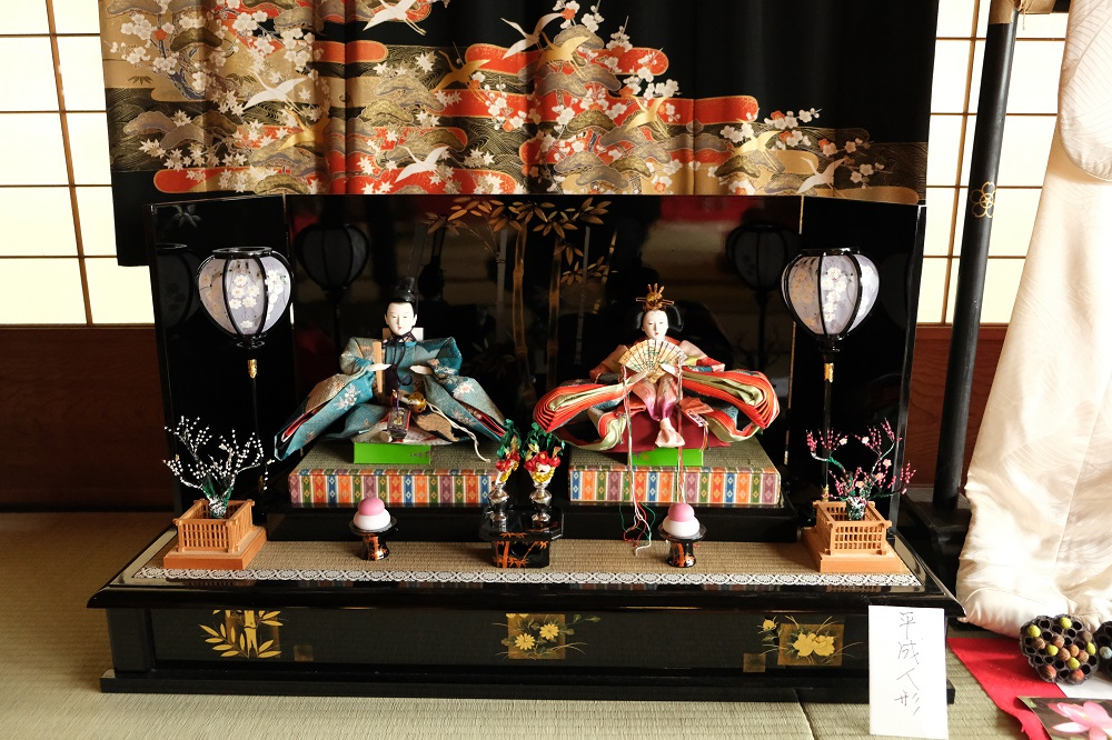 一ノ倉亭のひな人形の風景写真
