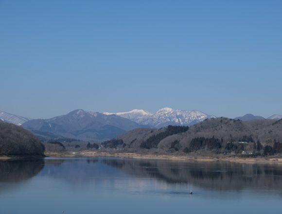 釜房ダムをX-T3レンズキットで撮影した写真