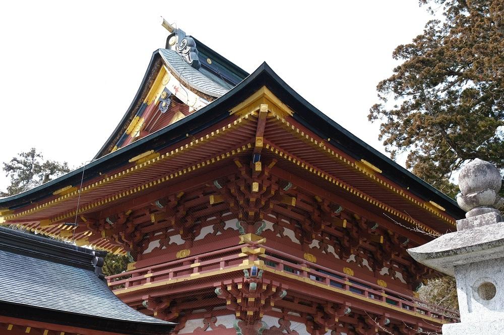 塩釜神社の建築様式の写真