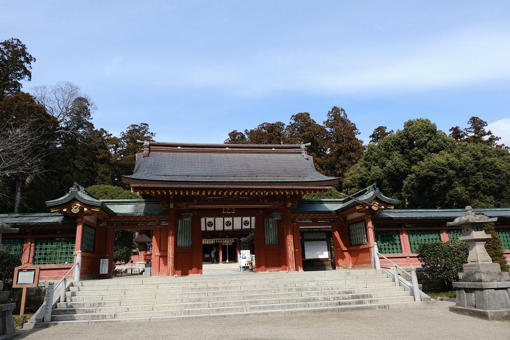 志波彦神社の風景写真