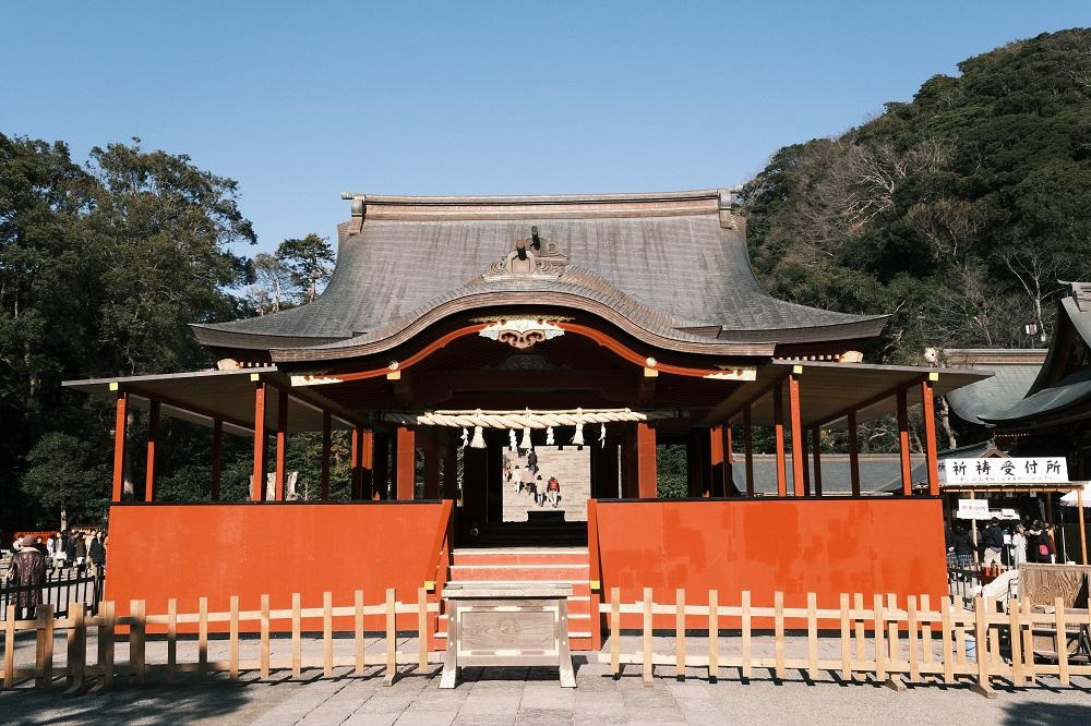鶴岡八幡宮の社の写真