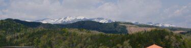 荒砥沢ダムの5月の風景写真